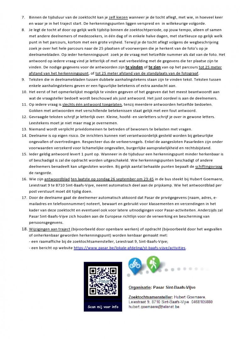 Reglement pagina 2